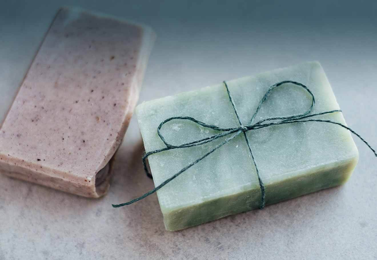 Packaging-free soap