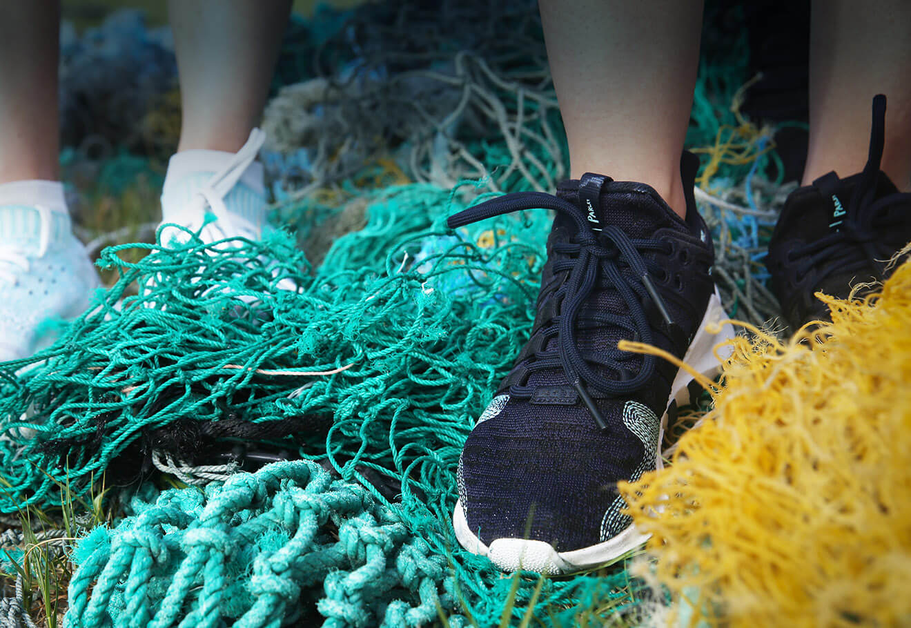 Make products out of ocean plastic