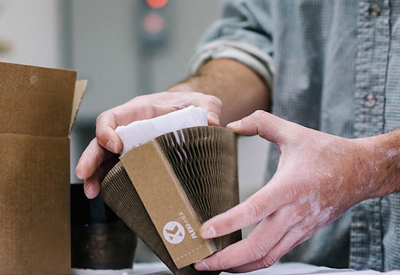Cardboard protective shipping wrap