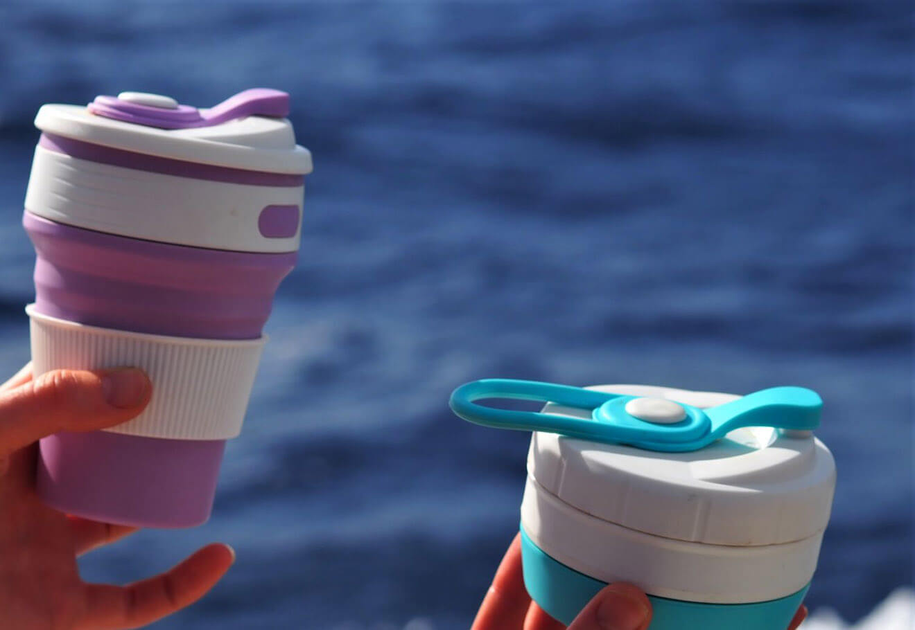 Carry a reusable cup