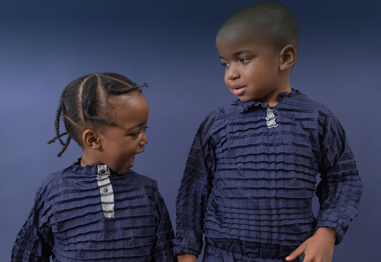 Petit Pli clothes that are engineered to grow with children