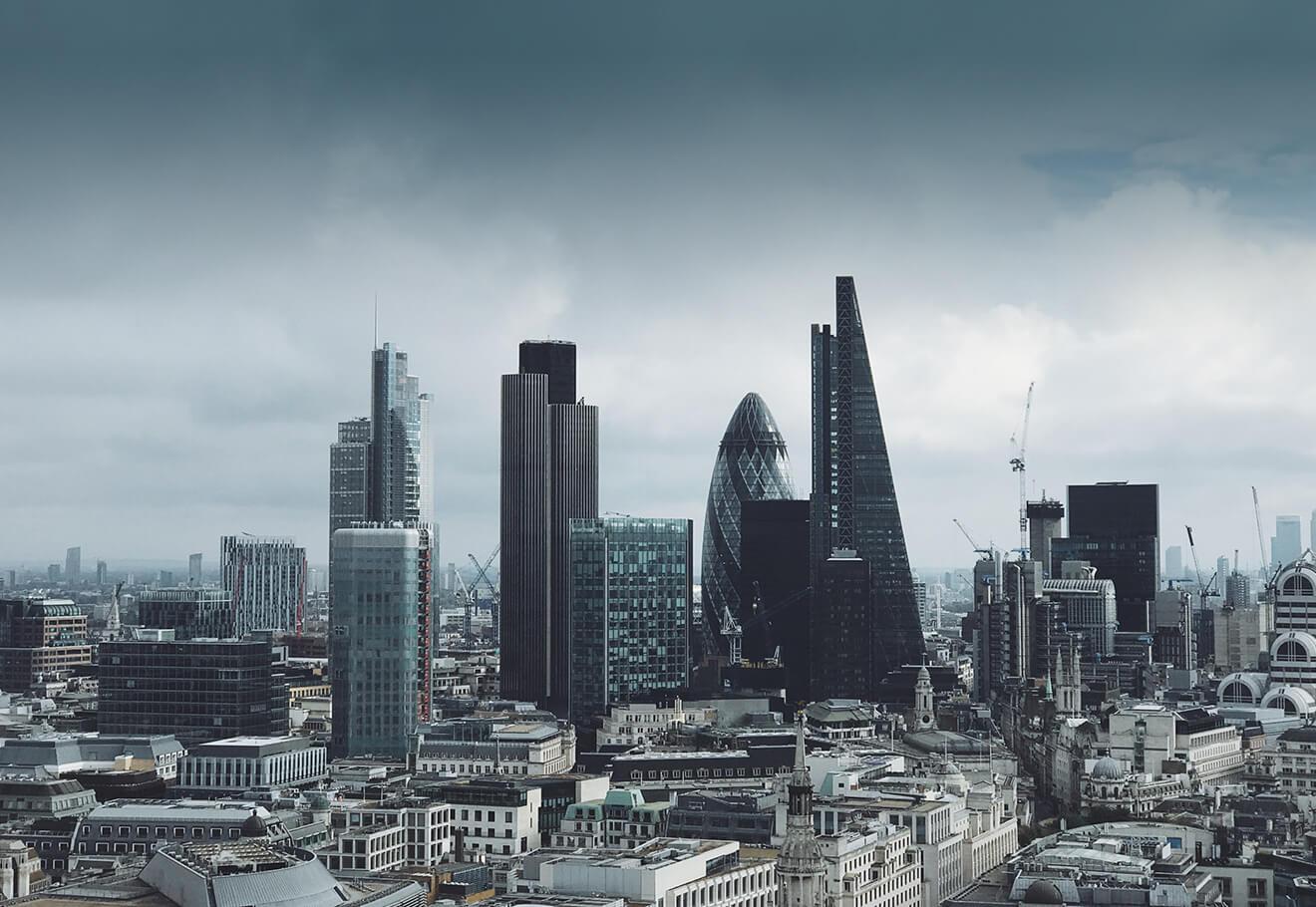London sky view