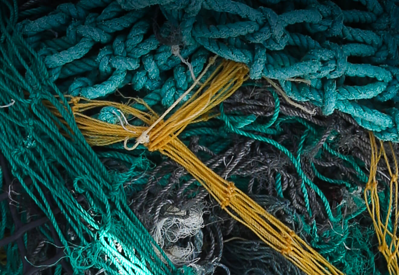 Assortment of ghost nets